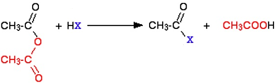 Learn Chemical Reactions Of Acid Anhydrides meaning