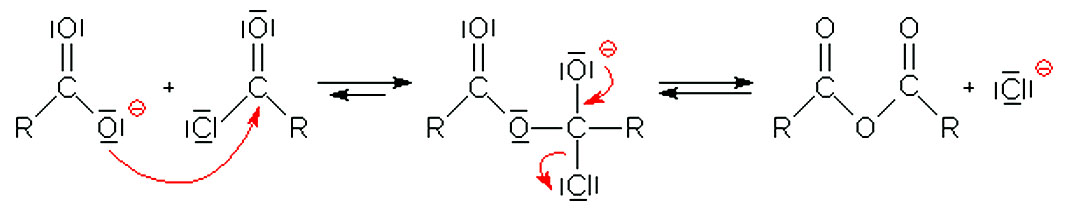 Learn Preparation Of Acid Anhydrides By Condensation Of